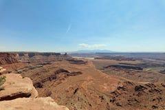 Белая оправа в национальном парке Canyonlands Юта Стоковые Изображения