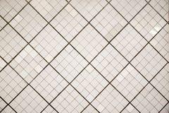 Белая плитка стены предпосылки стоковое изображение rf