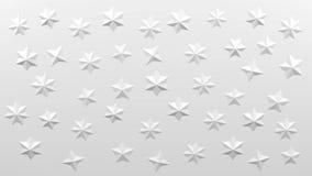 Белая полигональная геометрическая поверхностная предпосылка перевод 3d бесплатная иллюстрация