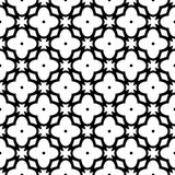 Белая предпосылка и repeted чернотой картина Стоковое фото RF