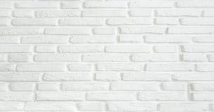 Белая предпосылка текстуры кирпичной стены grunge Текстура предпосылки белой кирпичной стены стоковая фотография