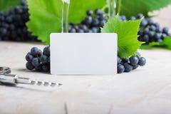 Белая пустая визитная карточка для ваших логотипа или текста стоковое фото rf