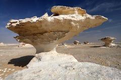 Белая пустыня, Египет Стоковые Фото
