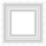 Белая рамка Стоковая Фотография RF