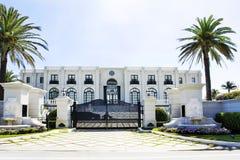 Белая роскошная дом Стоковое Изображение RF