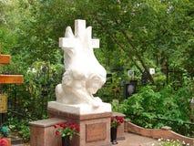 Белая статуя грифона стоковое изображение
