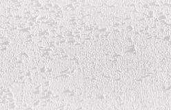 Белая текстура стены для предпосылки Стоковые Фотографии RF