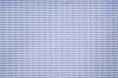 Белая ткань винила задействовала линию текстуру Стоковые Фотографии RF