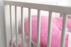 Белая шпаргалка младенца Стоковое Изображение