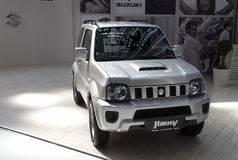 Автомобиль Suzuki Jimny Стоковые Фото