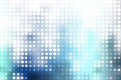 белизна абстрактных шаров предпосылки голубых ультрамодная Стоковое Фото
