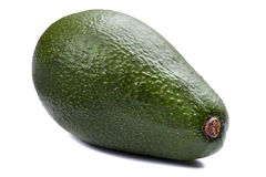 белизна авокадоа свежая изолированная стоковые изображения rf
