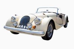 белизна автомобиля классицистическая Стоковые Изображения RF