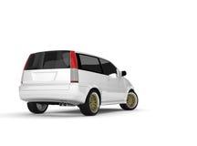 белизна автомобиля иллюстрация вектора