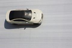 белизна автомобиля Стоковая Фотография