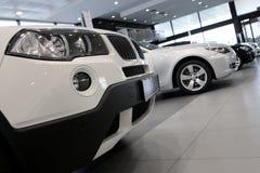 белизна автомобиля Стоковое Изображение RF