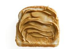 белизна арахиса масла хлеба Стоковое Изображение