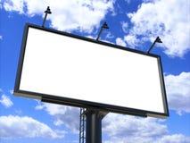 Белизна афиши пустая для плаката внешней рекламы или пустая насмешка рекламы афиши вверх по шаблону Стоковое Изображение