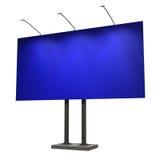 белизна афиши пустой изолированная синью Стоковые Фотографии RF