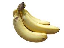 белизна банана предпосылки изолированная пуком Стоковое фото RF