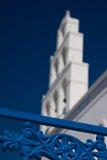 белизна башни колокола Стоковая Фотография RF
