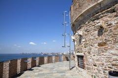 белизна башни Стоковые Изображения RF