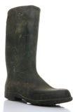 белизна ботинка резиновая Стоковое фото RF