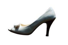 белизна ботинка Стоковое фото RF