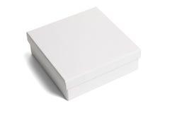 белизна бумаги подарка коробки Стоковое фото RF