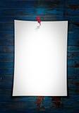 белизна бумаги примечания Стоковые Изображения