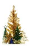 белизна вала рождества декоративная изолированная Стоковая Фотография RF
