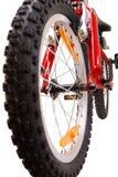 белизна велосипеда новая красная Стоковые Фотографии RF