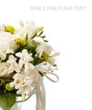 белизна венчания букета Стоковые Фото