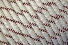 белизна веревочки Стоковое фото RF