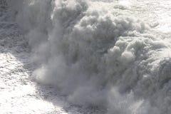 белизна волны Стоковое фото RF