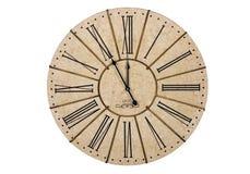 белизна времени предпосылки изолированная часами Стоковое фото RF