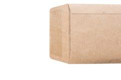 белизна габарита предпосылки коричневая Стоковые Изображения RF