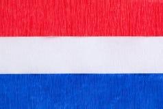 белизна голубого красного цвета знамени предпосылки Стоковое фото RF