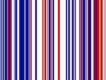 белизна голубого красного цвета предпосылки striped Стоковая Фотография RF