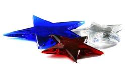 белизна голубого красного цвета Стоковое Изображение RF