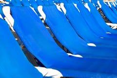 белизна голубых салонов пластичная Стоковые Фото
