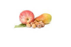 белизна груши ек яблока зрелая Стоковое фото RF