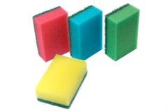 белизна губки предпосылки Стоковое Изображение RF