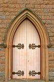 белизна двери стоковые изображения