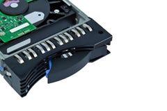 белизна диска изолированная hard Стоковые Фотографии RF