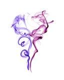 белизна дыма предпосылки Стоковая Фотография RF