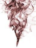 белизна дыма цвета предпосылки красная Стоковое Фото