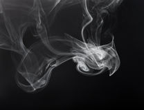 белизна дыма Стоковые Фотографии RF