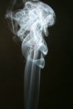 белизна дыма Стоковая Фотография RF