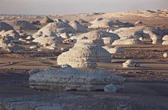 белизна Египета Сахары пустыни западная Стоковая Фотография